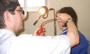 Лечение на възпаление на евстахиева тръба