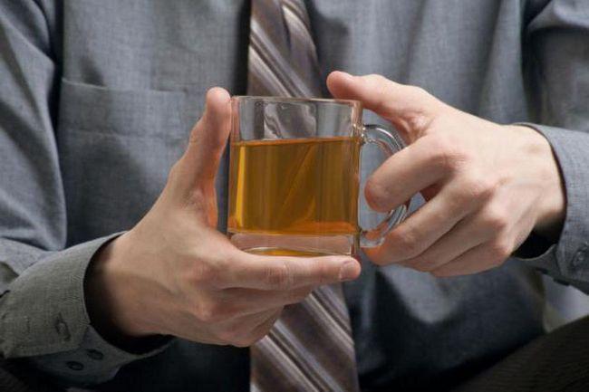 зелен чай за мъже