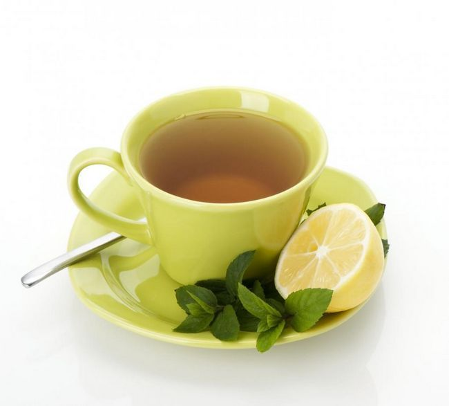 чай с лимон