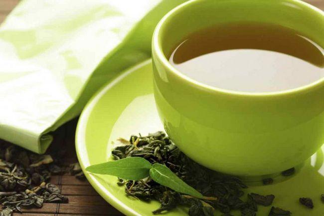 зелен ароматен чай