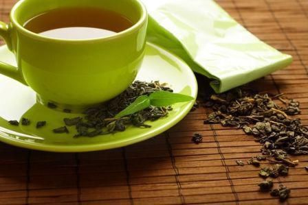 зелен чай за закуска