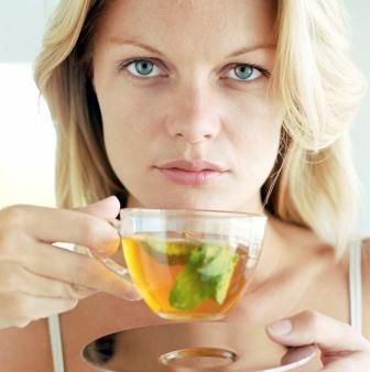 зелен чай със захар