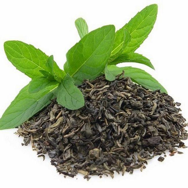 листа зелен чай