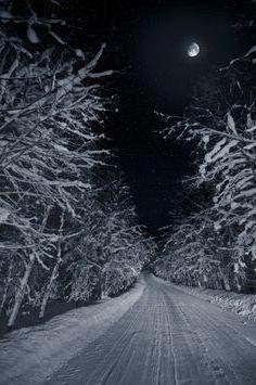 зимния път на стихотворението на Пушкин