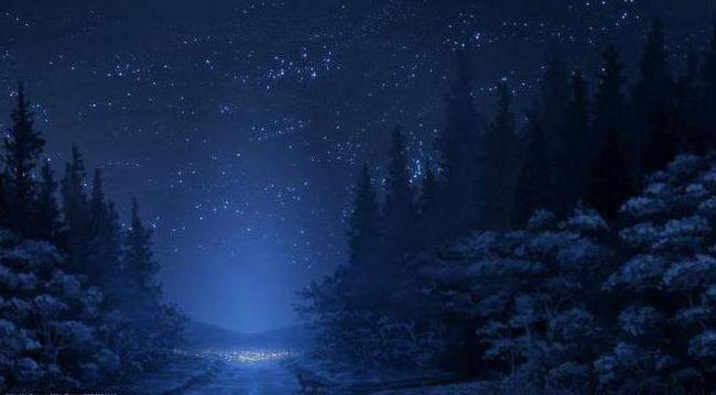 стихотворение на зимния път Пушкин напълно