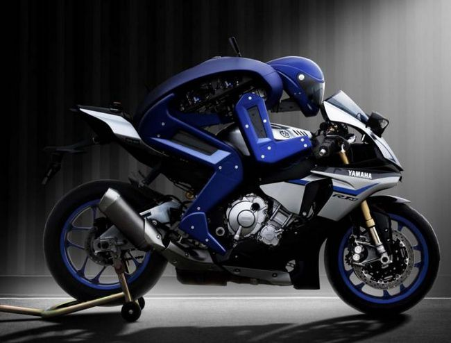 Запознайте се: този мотоциклет е робот мотоциклетист от Yamaha